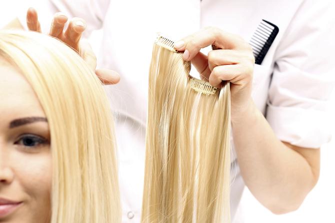 Уход за нарощенными волосами дома