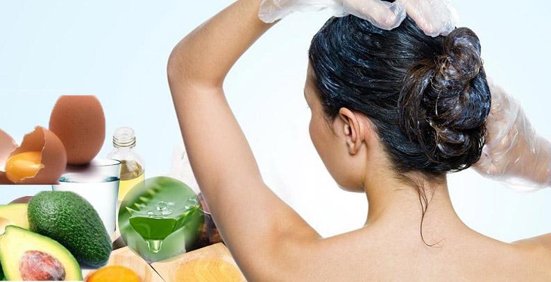 Простые питательные маски для волос